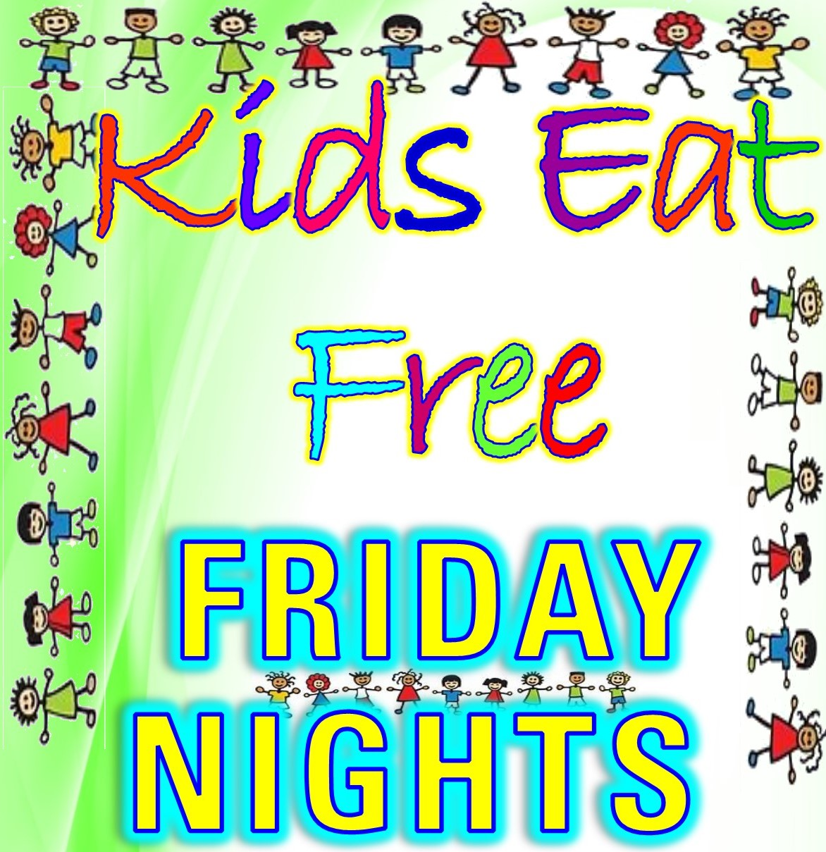 Where Kids Eat Free On Friday